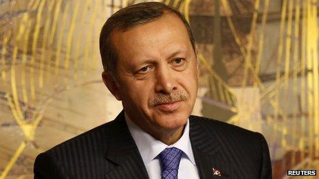 Prime Minister Tayyip Erdogan