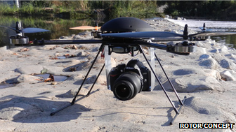 Rotor Concept HPQ-2 drone