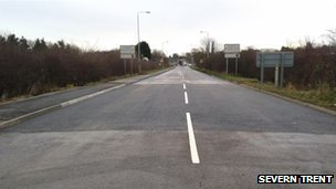 The A6 at Kegworth
