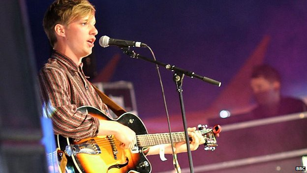 George Ezra at Glastonmbury