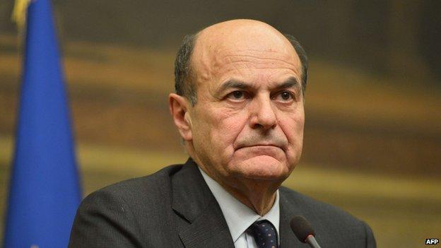 Pier Luigi Bersani - file pic