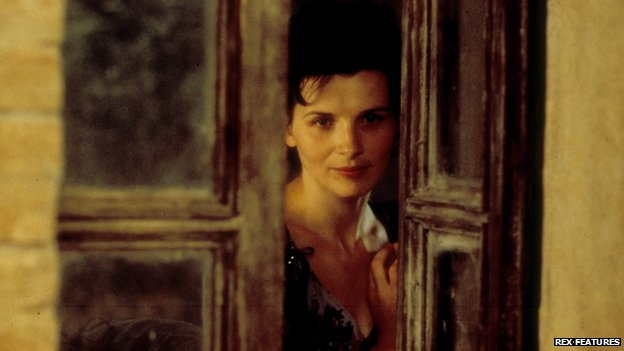 Juliette Binoche in The English Patient