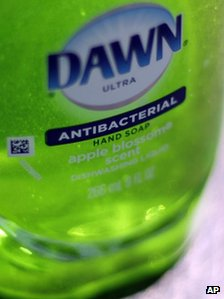 Dawn antibacterial soap
