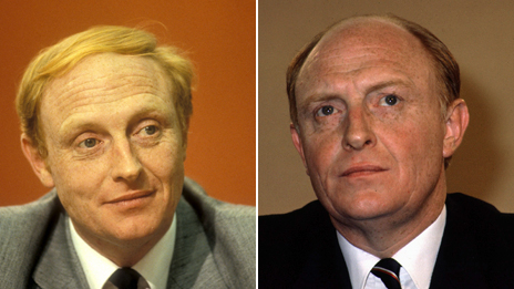 Neil Kinnock: Before and after the combover