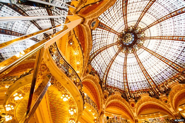 The dome of Galeries Lafayette