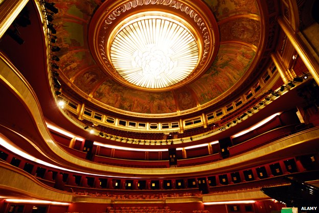 Interior of the Theatre des Champs Elysees