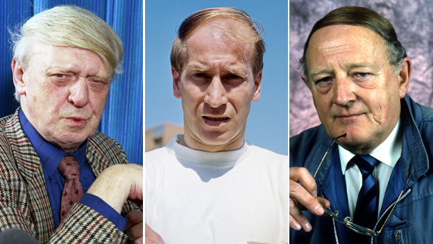 Anthony Burgess, Bobby Charlton, Robert Robinson