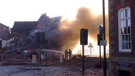 Shrewsbury Explosion 2010