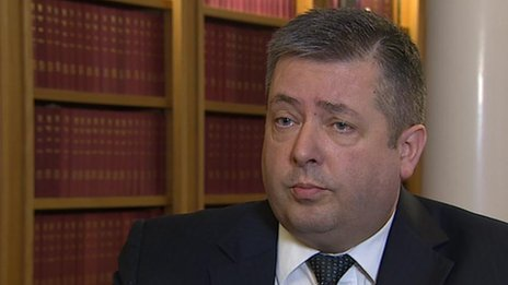 Lord Advocate Frank Mulholland said justice is being denied to rape victims
