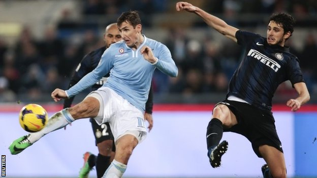 Miroslav Klose scores for Lazio