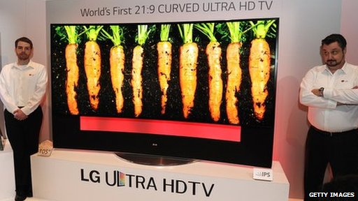 LG 105in TV