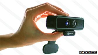 SoftKinetic camera
