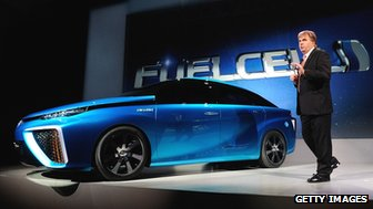 Toyota's fuel cell concept vehicle