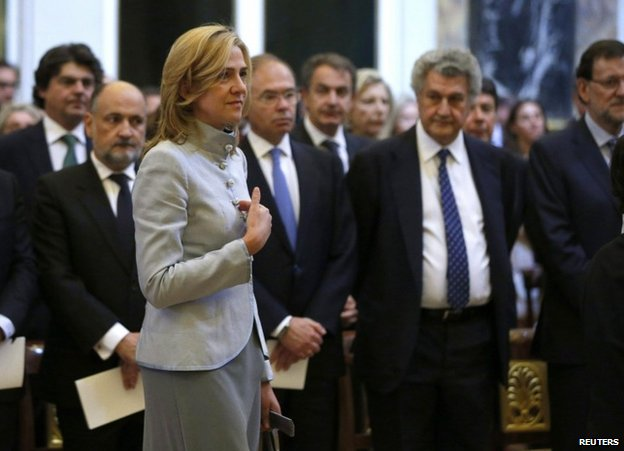 Spanish princess Infanta Cristina summoned over fraud