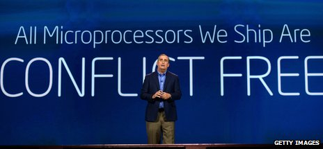 Intel's chief executive Brian Krzanich at CES