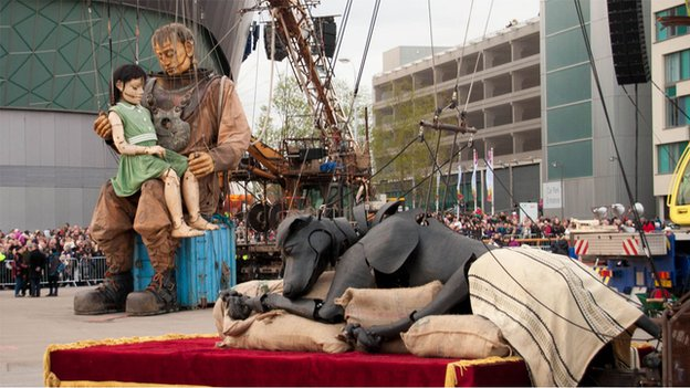 Sea Odyssey. Sea Odyssey Little Girl Giant's canine companion Xolo will also return to the city's streets