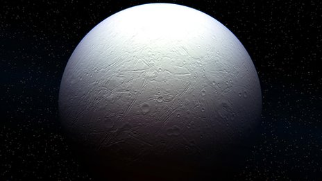 Image of cold planet