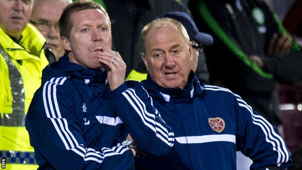 Gary Locke and Billy Brown