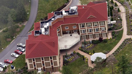 Mr Gulen's private compound in Pennsylvania