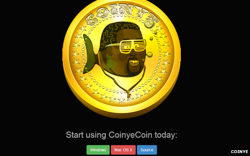 Coinye website