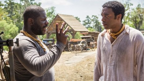 Steve McQueen and Chiwetel Ejiofor