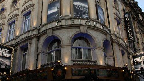 Gielgud Theatre exterior