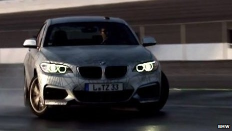 BMW power sliding