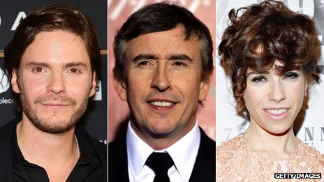 Daniel Bruhl, Steve Coogan and Sally Hawkins
