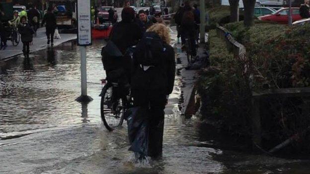 Flooding near Botley Road
