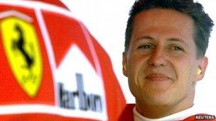 File photo of Michael Schumacher