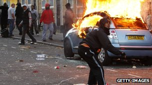 Riots in Hackney in August 2011