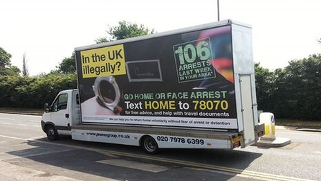 A Home Office go home van