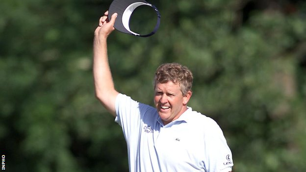 Colin Montgomerie won the Irish Open when it was staged at Fota Island in 2001