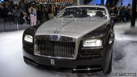 rolls royce says it is looking at designs for a 4x4 vehicle as it reports record sales bbc news. Black Bedroom Furniture Sets. Home Design Ideas