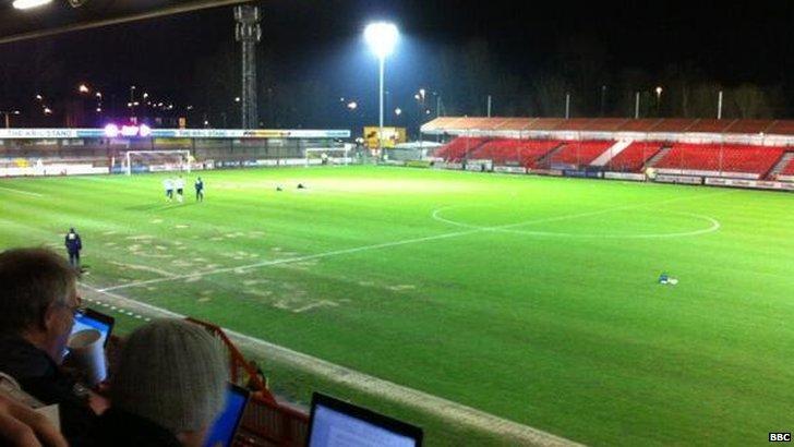 Crawley Town versus Bristol Rovers