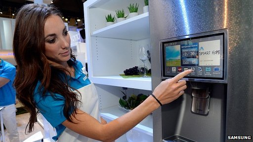 Samsung smart fridge