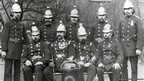Firefighters from Clerkenwell Fire Station taken in 1900