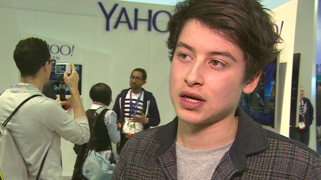 Yahoo developer Nick D'Aloisio