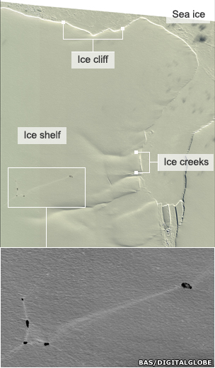 Shackleton ice shelf