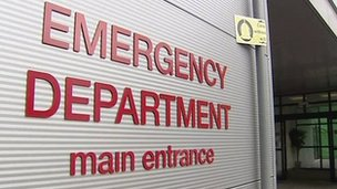 What led to Wednesday night's crisis at the RVH?