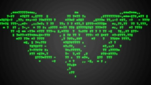 Code in the shape of a cicada