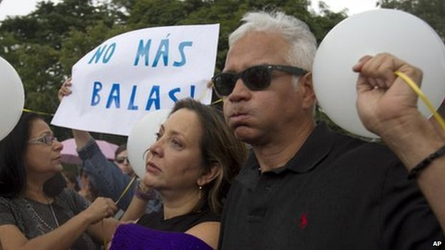 Venezuelan Actress Elba Escobar and her husband Francisco Oilvares