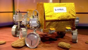 Bridget, Europe's first Mars rover