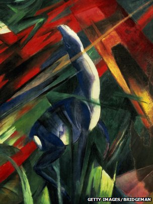 Fate of the Animals, by Franz Marc.