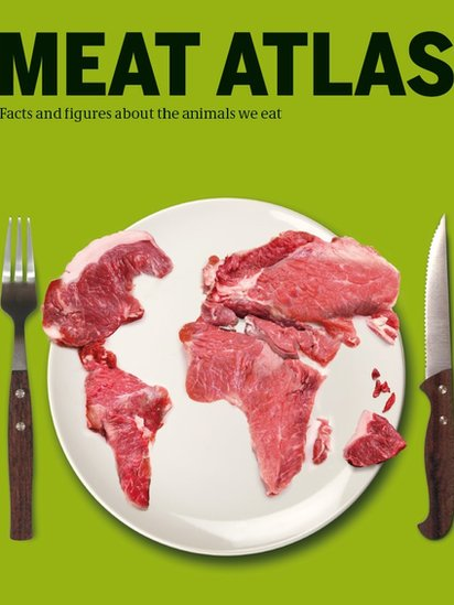 Front cover of Meat Atlas