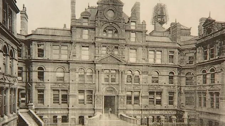 Historic image of the Coal Exchange