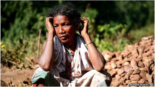 Dongria Kondh woman