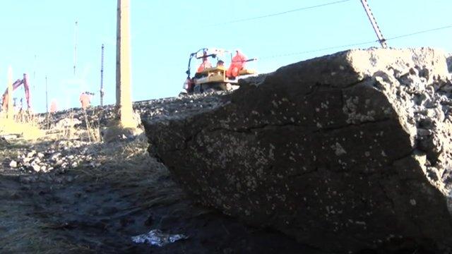 Rail repairs