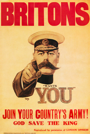 Your country needs you poster