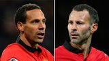 Rio Ferdinand and Ryan Giggs